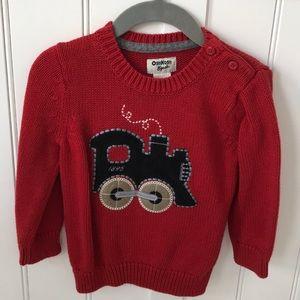 OshKosh B'gosh Train Sweater